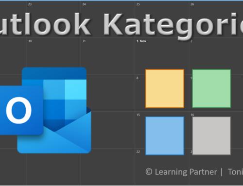 Bessere Übersicht in Outlook mithilfe von Kategorien