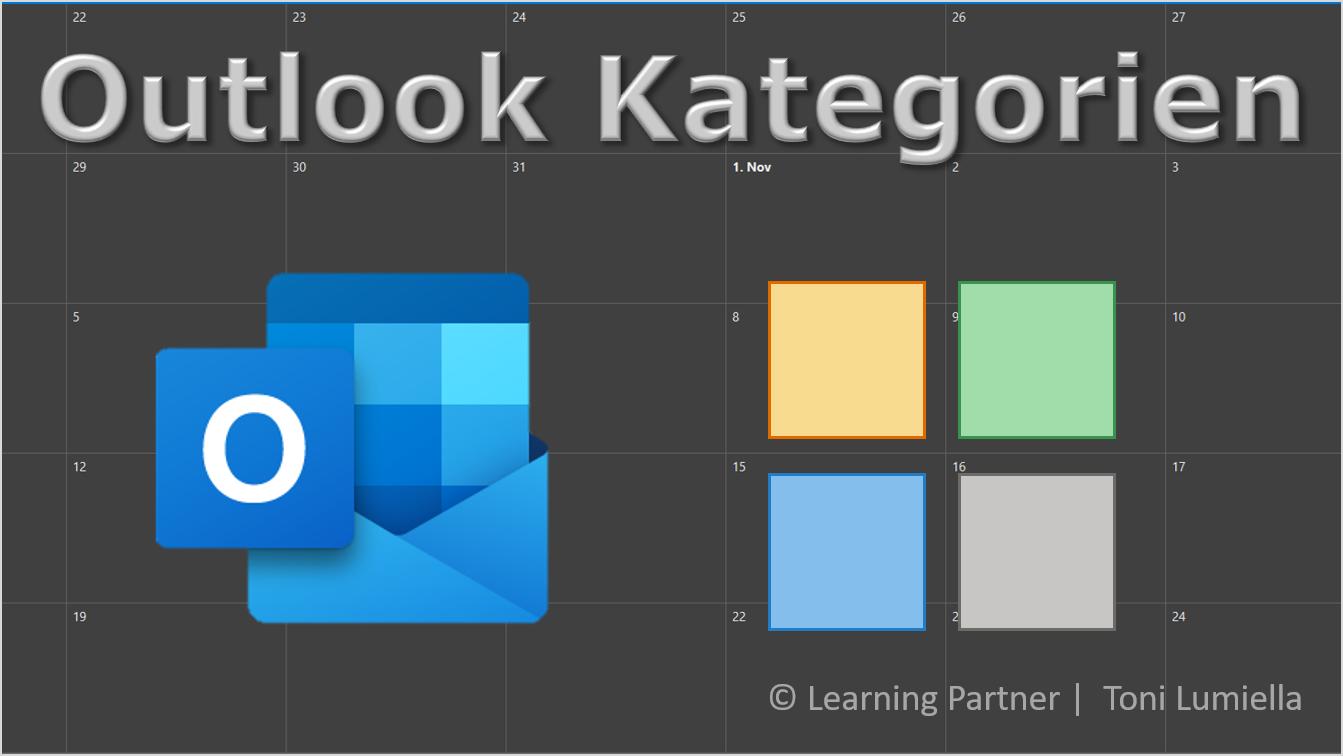 Bild Outlook Kategorien