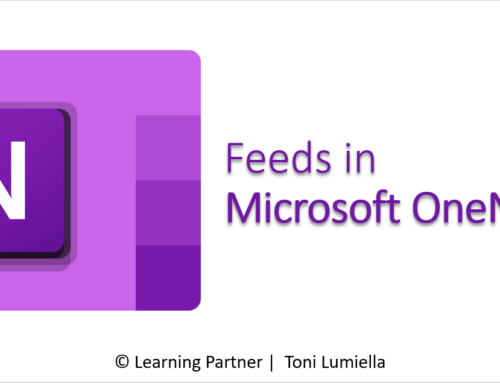 Feeds in OneNote 365