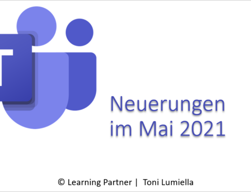 Microsoft Teams – Anpassungen im Mai 2021